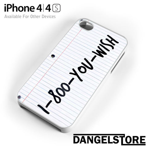 1 800 you wish Z - iphone case - iphone 4 - DANGELSTORE