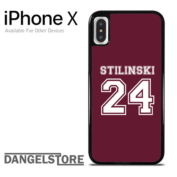 24 Stilinski Teen Wolf iPhone X Case - Dangelstore