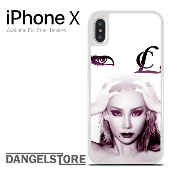 2NE1 CL Icon iPhone X Case - Dangelstore