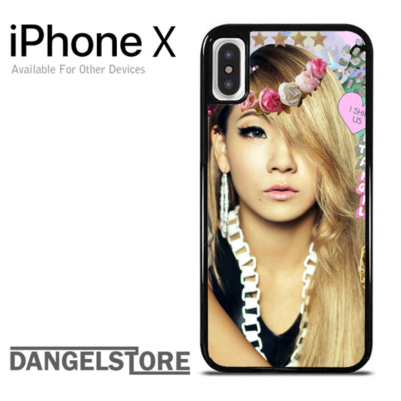 2NE1 CL iPhone X Case - Dangelstore