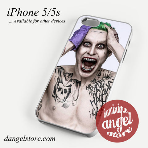 30 Seconds To Mars As Joker Phone case for iPhone 4/4s/5/5c/5s/6/6s/6 plus
