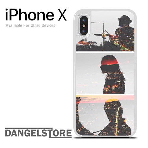 30 Seconds To Mars City Of Angels - iphone X case - DANGELSTORE