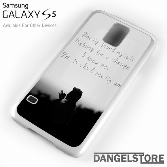30 Seconds To Mars Found My Self - Samsung Galaxy Case - Samsung S5 Case