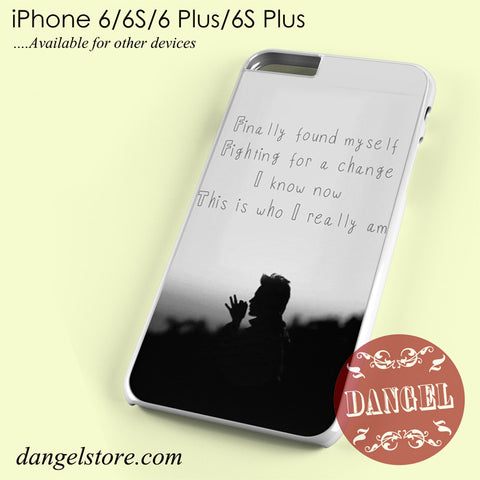 30 Seconds To Mars Found My Self Phone case for iPhone 6/6s/6 Plus/6S plus