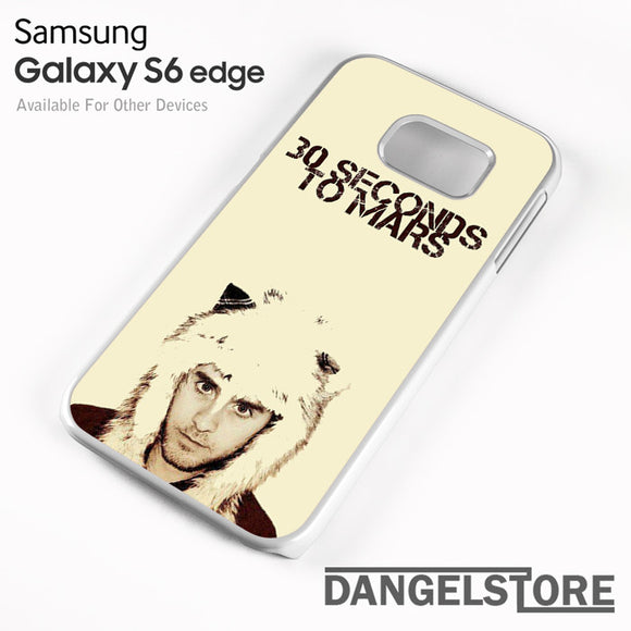 30 Seconds to Mars Jared Letto - samsung galaxy case - samsung galaxy S6 Edge - DANGELSTORE