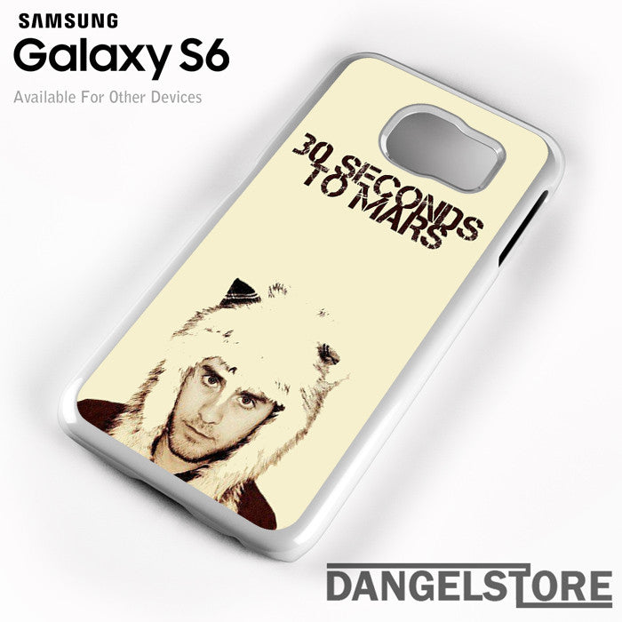 30 Seconds to Mars Jared Letto - Samsung Galaxy Case - Samsung S6 Case - DANGELSTORE