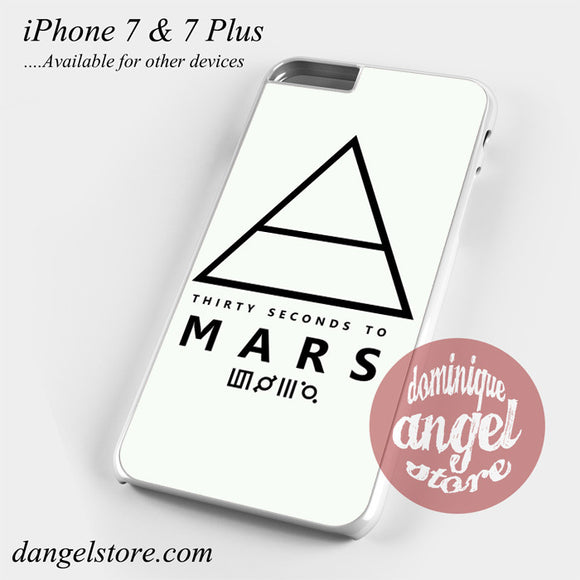 30 Seconds To Mars Logo 1 Phone Case for iPhone 7 and iPhone 7 Plus