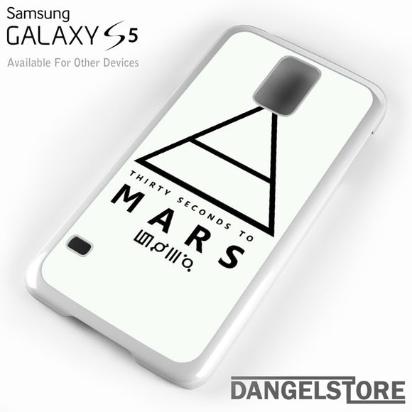 30 Seconds to Mars Logo 1 - Samsung Galaxy Case - Samsung S5 Case