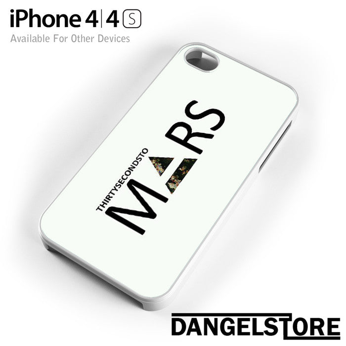 30 Seconds to Mars Logo 2 - iphone case - iphone 4 - DANGELSTORE