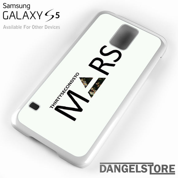 30 Seconds to Mars Logo 2 - Samsung Galaxy Case - Samsung S5 Case