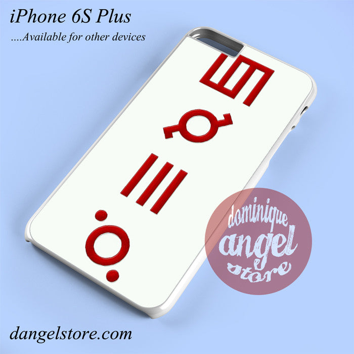 30 Seconds To Mars Logo 3 Phone case for iPhone 6S Plus and another iPhone devices