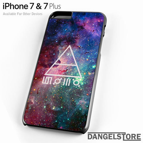 30 seconds to mars galaxy - iPhone Case - iPhone 7 Case - iPhone 7 Plus Case - DANGELSTORE