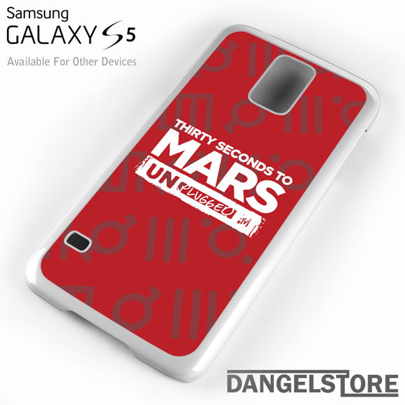 30 seconds to mars unplugged - Samsung Galaxy Case - Samsung S5 Case