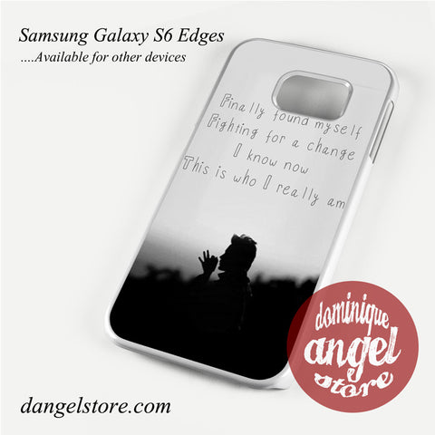 30 Seconds To Mars Found My Self Phone Case for Samsung Galaxy S3/S4/S5/S6/S6 Edge