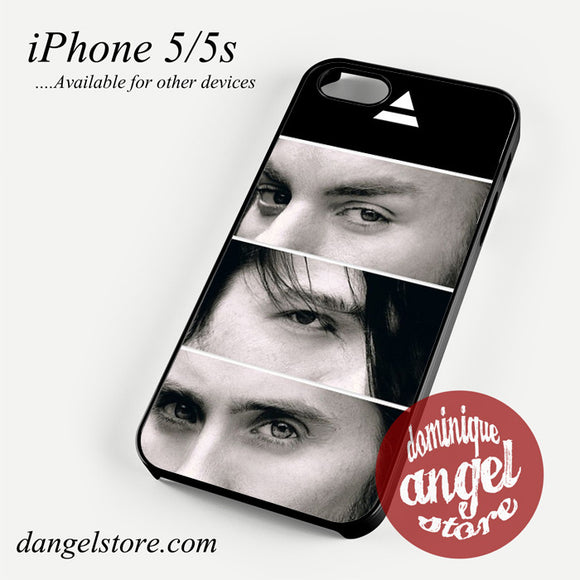 30 Seconds To Mars Members Phone case for iPhone 4/4s/5/5c/5s/6/6 plus
