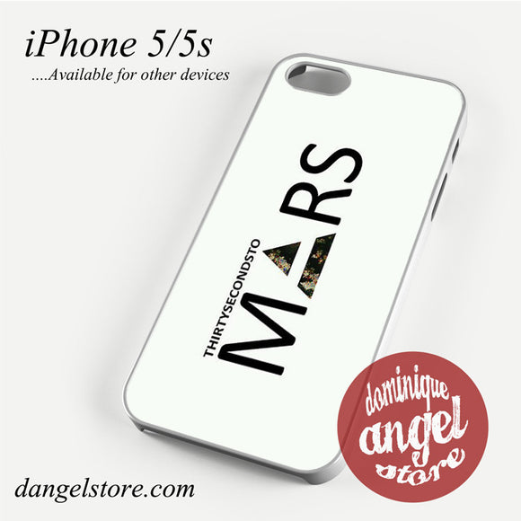 30 Seconds to Mars Logo 2 Phone case for iPhone 4/4s/5/5c/5s/6/6 plus