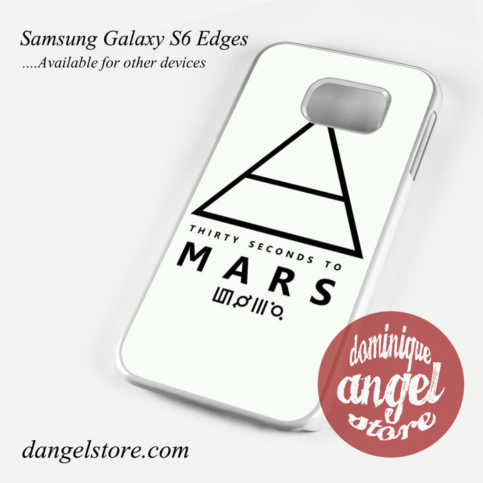 30 Seconds to Mars Logo 3 Phone Case for Samsung Galaxy S3/S4/S5/S6/S6 Edge/S6 Edge Plus