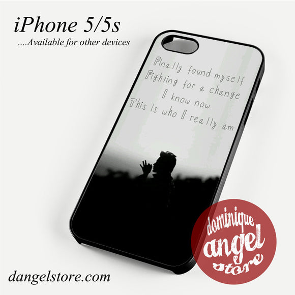 30 Seconds to Mars Lyrics 3 Phone case for iPhone 4/4s/5/5c/5s/6/6 plus