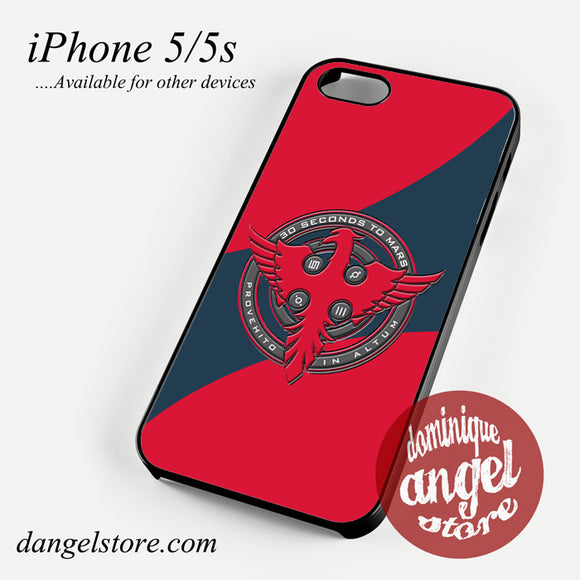 30 seconds to mars logo Phone case for iPhone 4/4s/5/5c/5s/6/6 plus