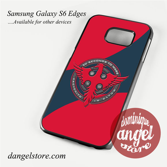 30 seconds to mars logo Phone Case for Samsung Galaxy S3/S4/S5/S6/S6 Edge