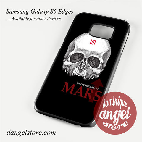 30 seconds to mars skull logo Phone Case for Samsung Galaxy S3/S4/S5/S6/S6 Edge - dangelstore