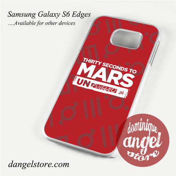 30 seconds to mars unplugged Phone Case for Samsung Galaxy S3/S4/S5/S6/S6 Edge - dangelstore