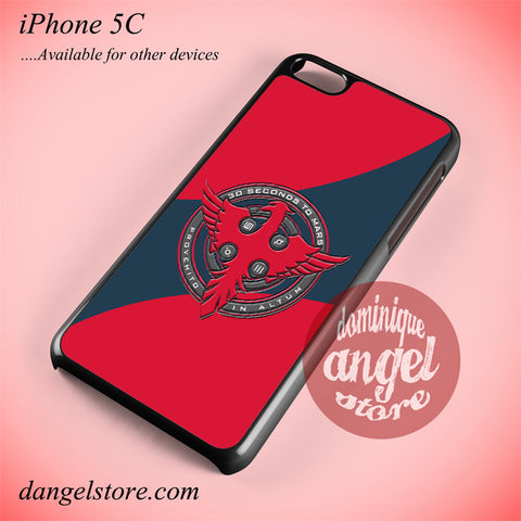 3 Seconds To Mars Logo Phone case for iPhone 5C and another iPhone devices - dangelstore