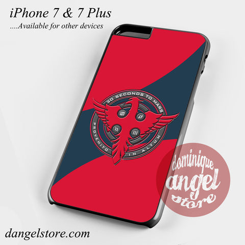 3 Seconds To Mars Logo Phone Case for iPhone 7 and iPhone 7 Plus - dangelstore
