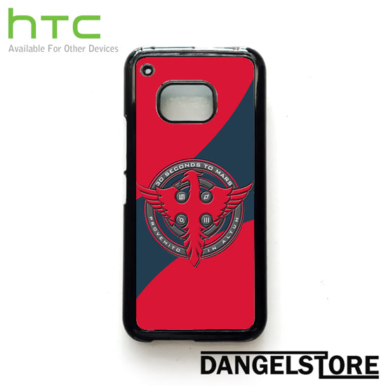 3 seconds to mars logo - HTC Device - Dangelstore