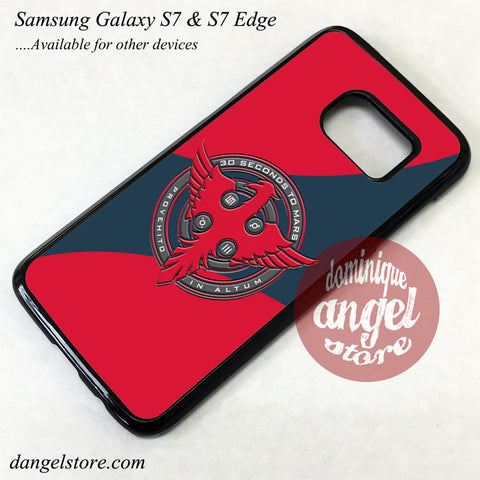 3 Seconds To Mars Logo Phone Case for Samsung Galaxy S7 and Galaxy S7 Edge - dangelstore