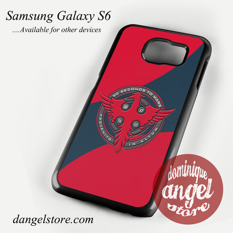 3 Seconds To Mars Logo Phone case for samsung galaxy S6 and another samsung Galaxy Devices - dangelstore