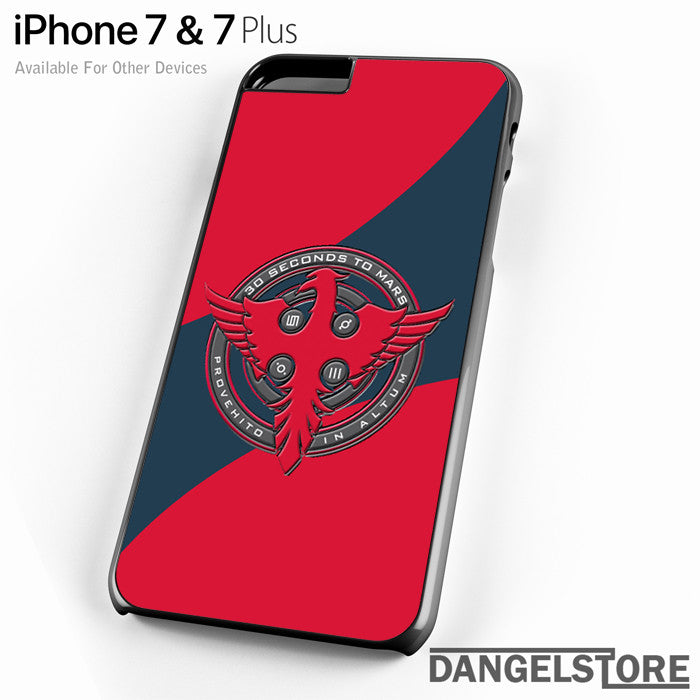 3 seconds to mars logo - iPhone Case - iPhone 7 Case - iPhone 7 Plus Case - DANGELSTORE