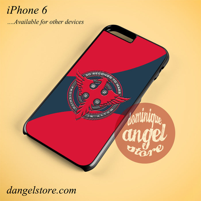 3 Seconds To Mars Logo Phone case for iPhone 6 and another iPhone devices