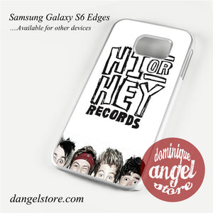 5 seconds of summer hi or hey Phone Case for Samsung Galaxy S3/S4/S5/S6/S6 Edge
