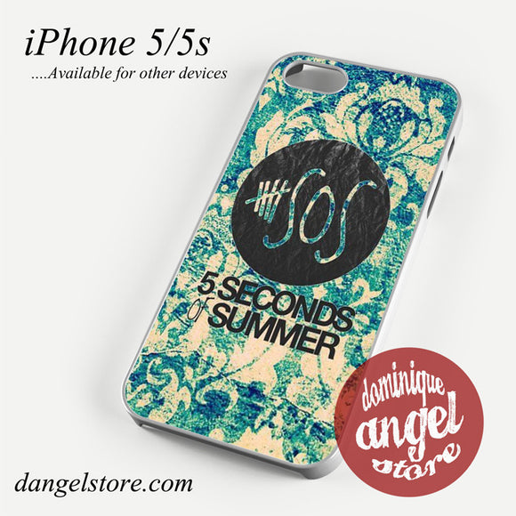5 seconds of summer vintage Phone case for iPhone 4/4s/5/5c/5s/6/6 plus