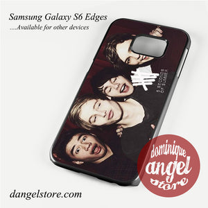 5 sos band Phone Case for Samsung Galaxy S3/S4/S5/S6/S6 Edge