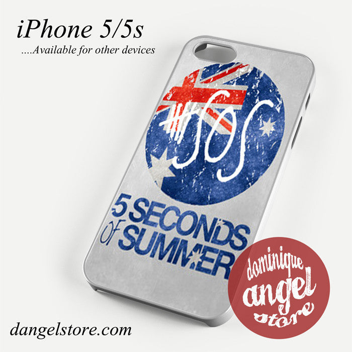 5 sos flag Phone case for iPhone 4/4s/5/5c/5s/6/6 plus