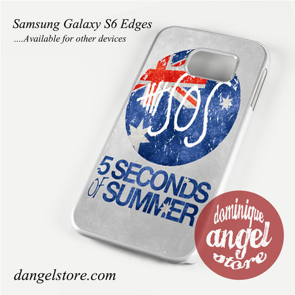5 sos flag Phone Case for Samsung Galaxy S3/S4/S5/S6/S6 Edge