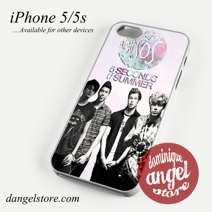 5seconds of summer 5 sos Phone case for iPhone 4/4s/5/5c/5s/6/6 plus