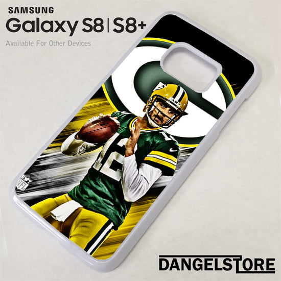 Aaron Rodgers Greenbay Packers Samsung Galaxy S8 Case - Dangelstore