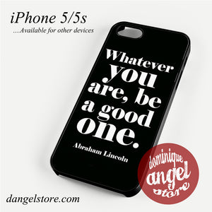 Abraham Lincoln Quotes Phone case for iPhone 4/4s/5/5c/5s/6/6 plus