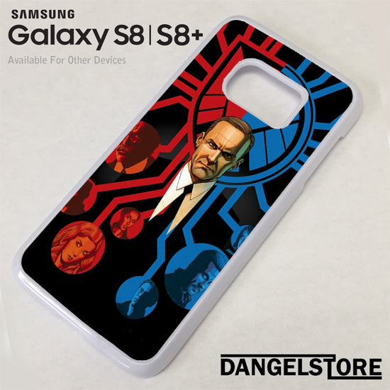 Agents of Shield 3 GT Samsung Galaxy S8 Case - Dangelstore