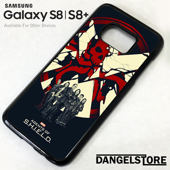 Agents of Shield GT Samsung Galaxy S8 Case - Dangelstore