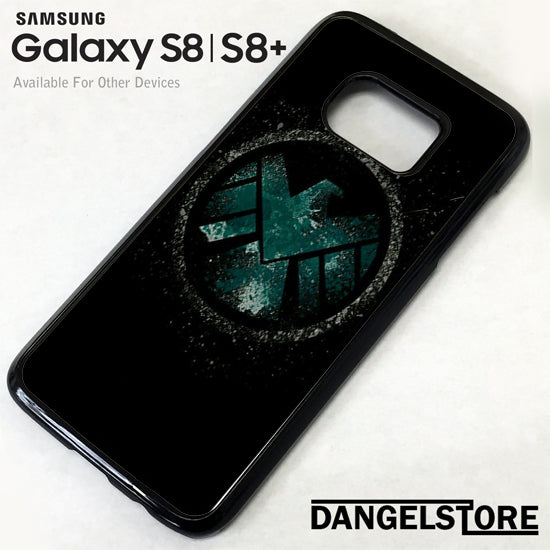 Agents of Shield Logo GT Samsung Galaxy S8 Case - Dangelstore