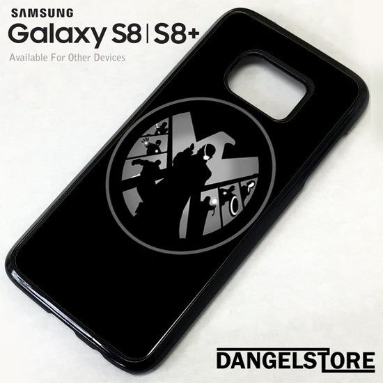 Agents of Shield and the Avenger GT Samsung Galaxy S8 Case - Dangelstore