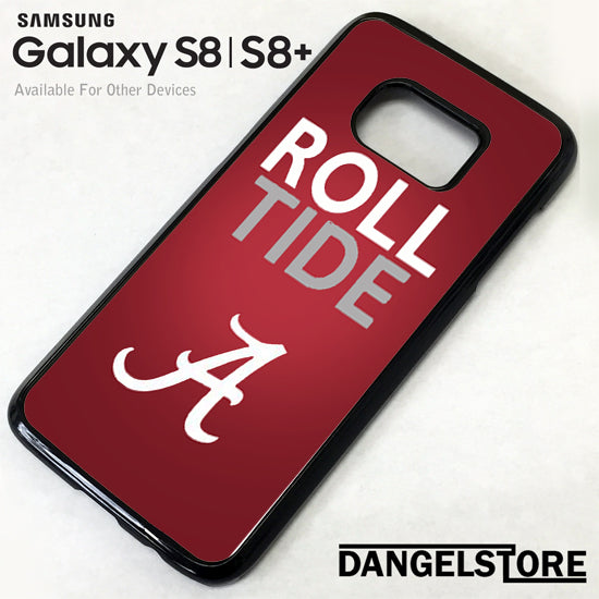 Alabama Crimson Tide Roll Samsung Galaxy S8 Case - Dangelstore