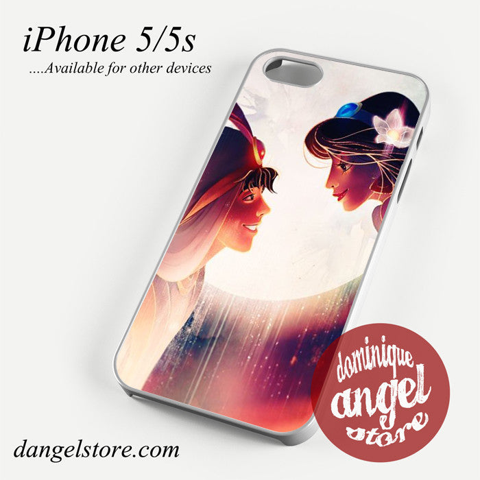 Aladdin And Jasmine Phone case for iPhone 4/4s/5/5c/5s/6/6 plus
