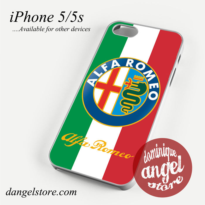 Alfa Romeo Italy Phone case for iPhone 4/4s/5/5c/5s/6/6 plus