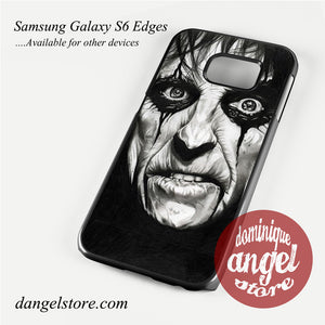 Alice cooper Face Phone Case for Samsung Galaxy S3/S4/S5/S6/S6 Edge