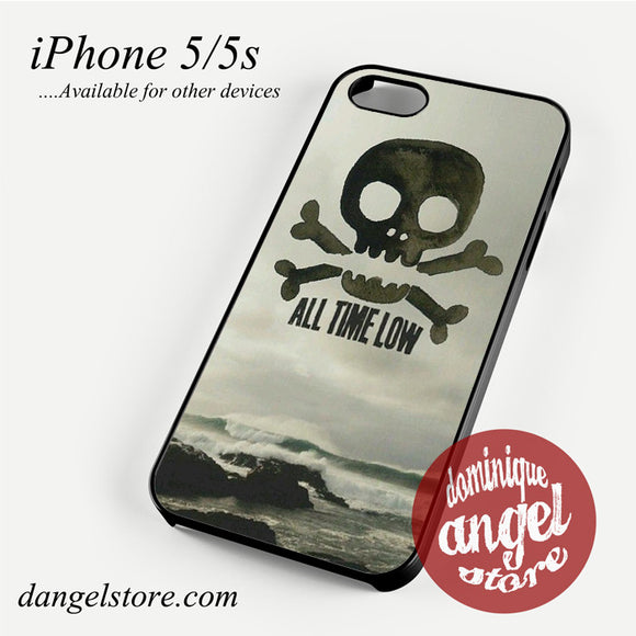 All Time Low Skull logo Phone case for iPhone 4/4s/5/5c/5s/6/6 plus